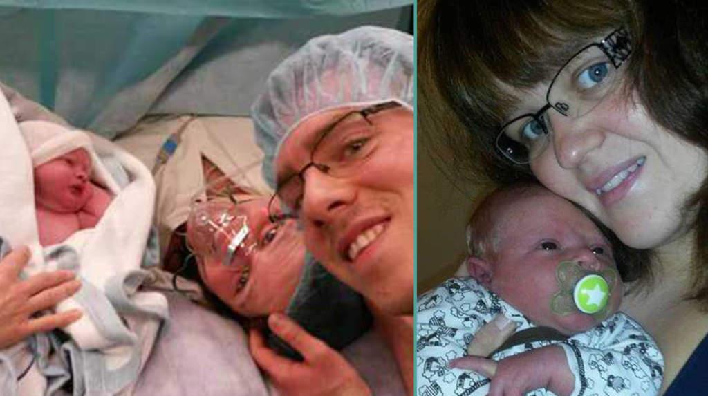 """<a href=""""https://www.aftonbladet.se/a/Wb8oba"""">Jasmine fick veta att hon var gravid – när hon var i åttonde månaden</a>"""